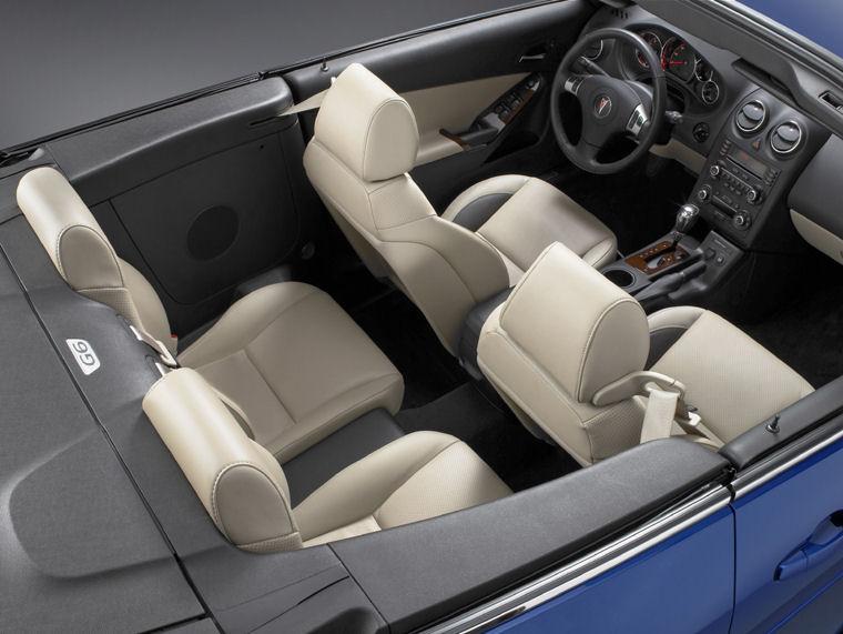 2007 Pontiac G6 Convertible Interior Picture