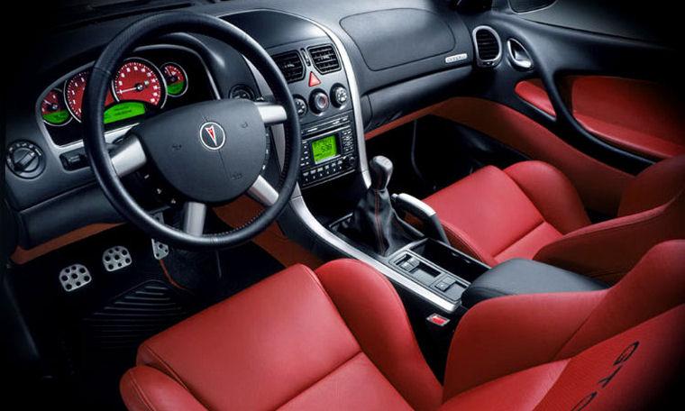 2004 Pontiac GTO Interior Picture