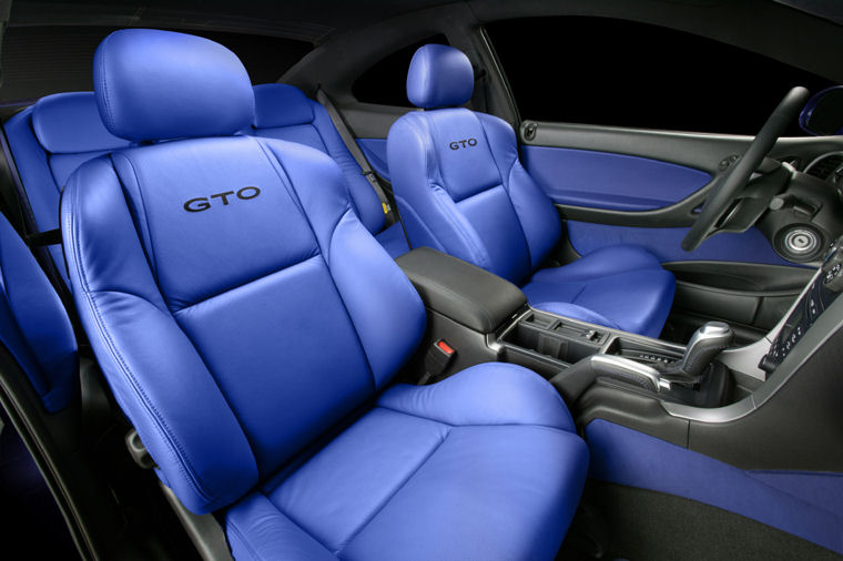 Wonderful 2004 Pontiac GTO Interior Picture