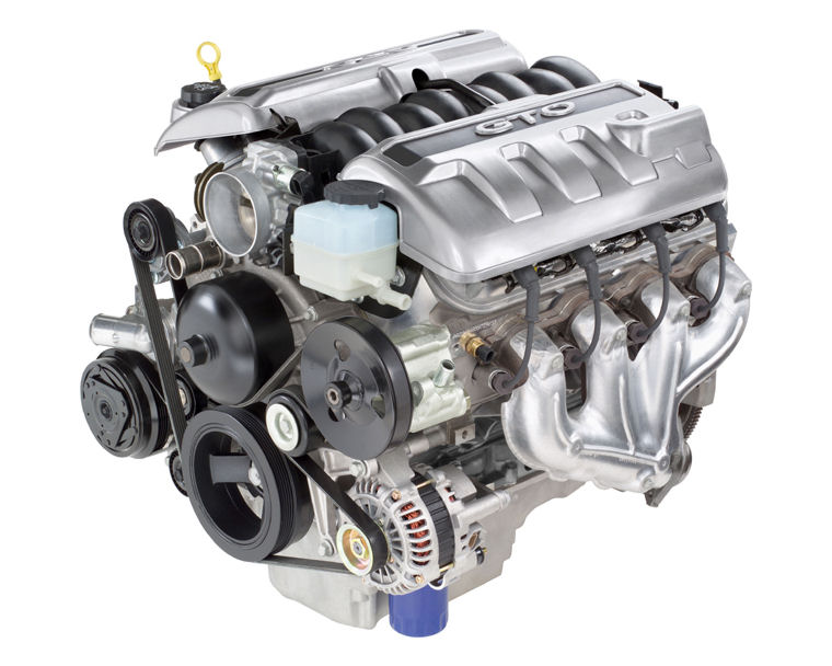 2004 Pontiac Gto 5 7l 8-cylinder Engine   Pic