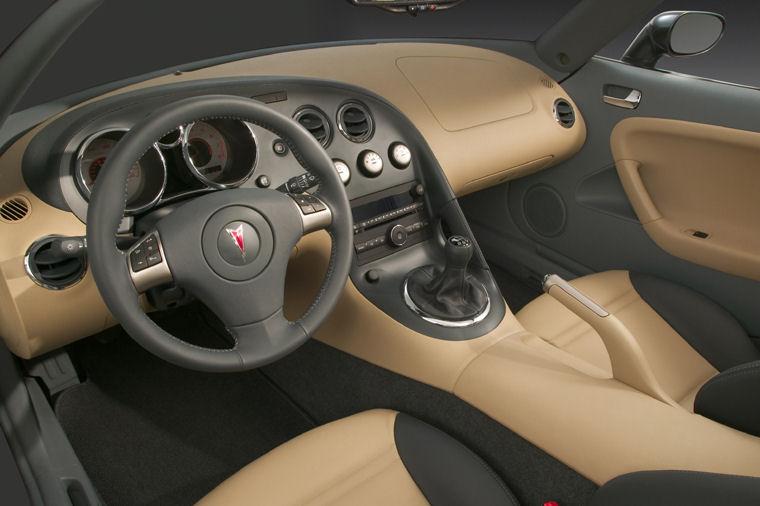 2008 Pontiac Solstice Interior Picture Pic Image