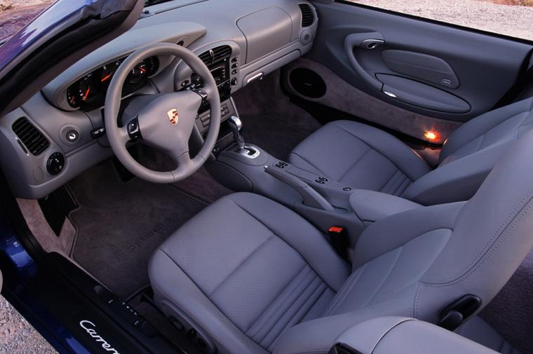 2003 porsche 911 996 carrera interior picture pic for Porsche 996 interieur