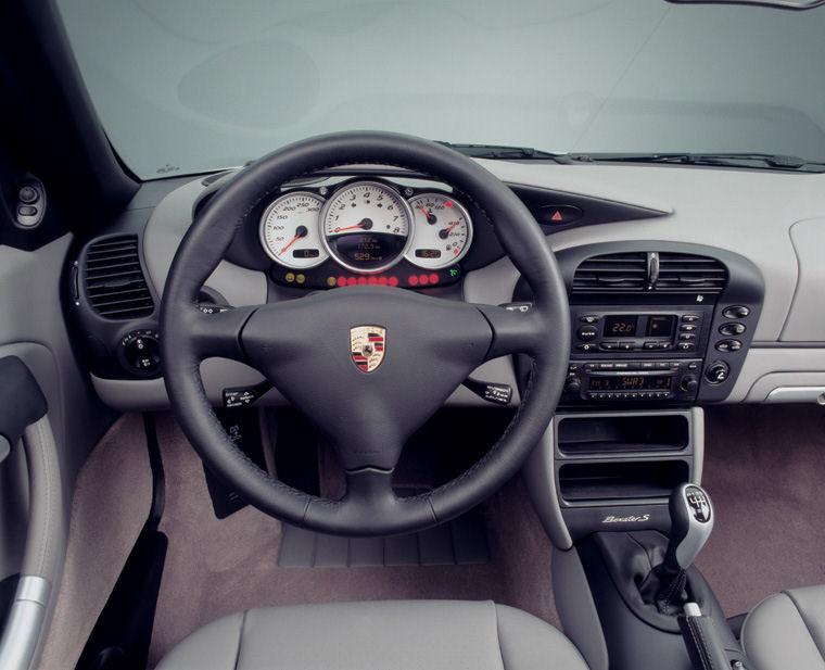 2004 Porsche Boxster Cockpit Picture Pic Image