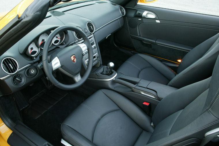 2008 Porsche Boxster S Interior Picture