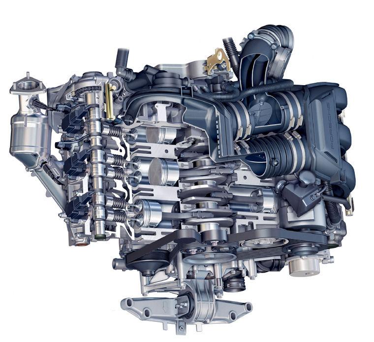 2008 porsche boxster 2 7l flat 6 engine picture pic image