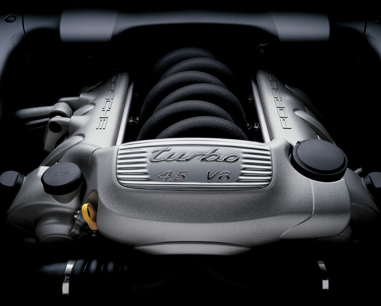 2005 Porsche Cayenne Turbo 4 5l V8 Engine Picture Pic Image