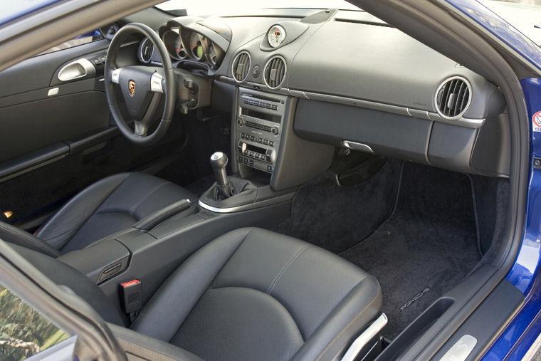 2008 Porsche Cayman S Interior Picture Pic Image