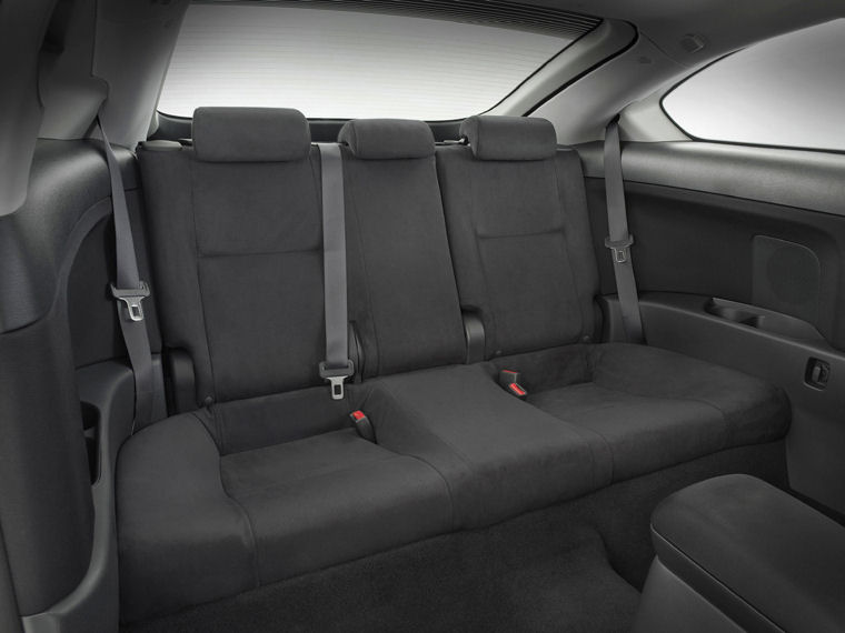 2006 Scion Tc Release Series 2 0 Rear Seats Picture