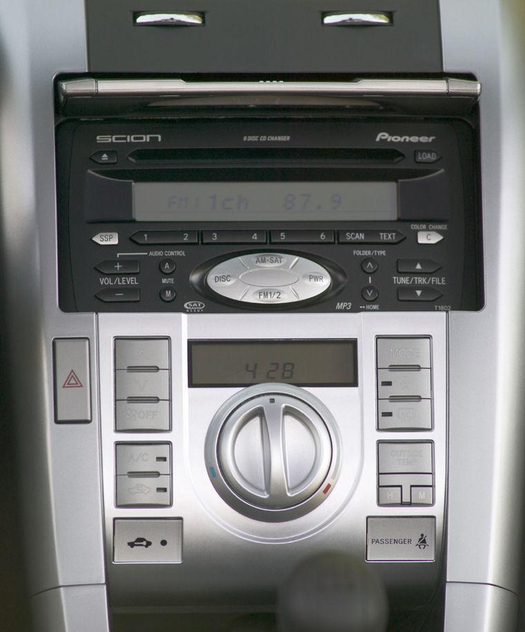 2007 Scion Tc Center Console Picture Pic Image