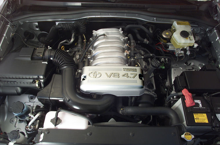 2003 Toyota 4runner 4 7l V8 Engine Picture Pic Image