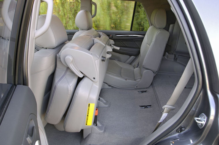 2008 Toyota 4runner Rear Seats Picture Pic Image