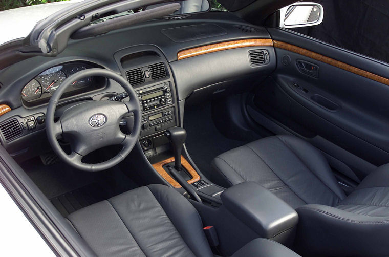 2002 Toyota Camry Solara Convertible Interior Picture