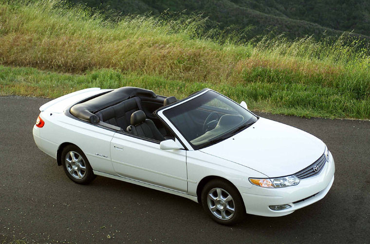 2002 Toyota Camry Solara Convertible Picture