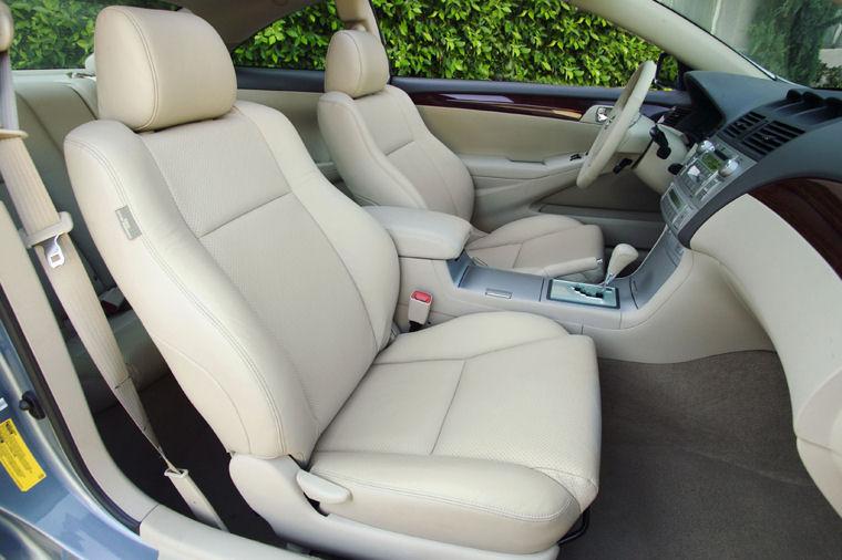 2004 Toyota Camry Solara Coupe Interior Picture