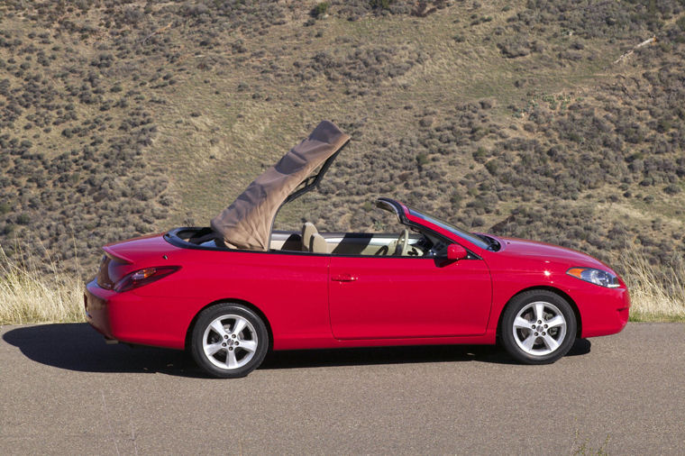 2005 toyota camry solara convertible se picture pic image. Black Bedroom Furniture Sets. Home Design Ideas
