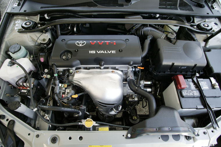 2006 toyota camry solara sle 4 cylinder engine picture pic image. Black Bedroom Furniture Sets. Home Design Ideas