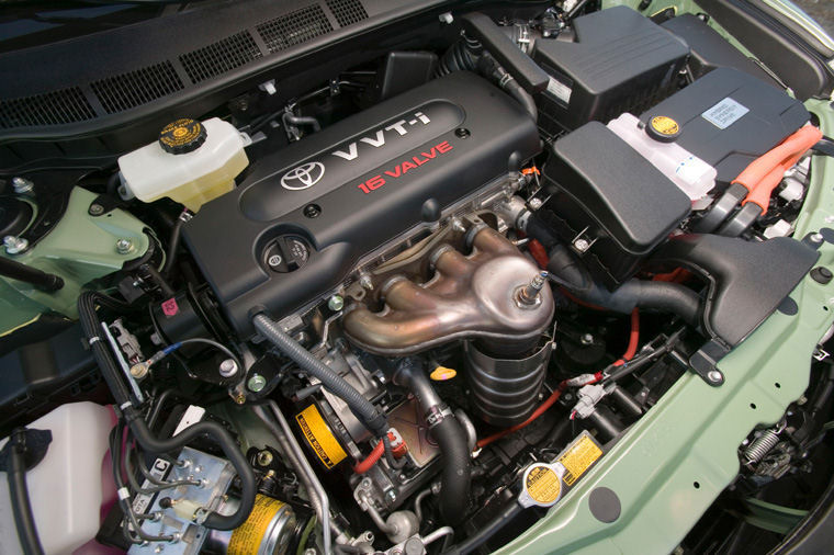 toyota camry hybrid   cylinder engine picture