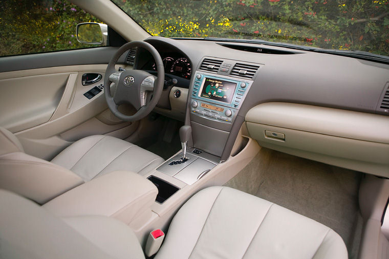 2009 Toyota Camry Hybrid Interior Picture