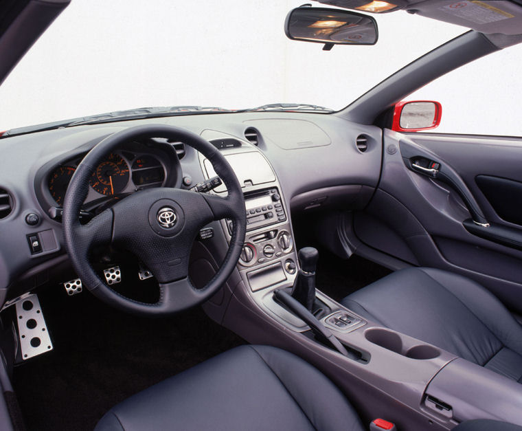 2002 toyota celica interior picture pic image. Black Bedroom Furniture Sets. Home Design Ideas