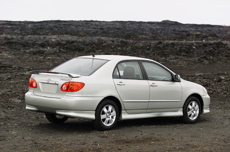 2003 toyota corolla s picture pic image. Black Bedroom Furniture Sets. Home Design Ideas
