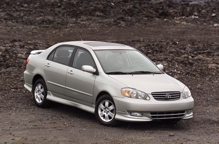 Superb 2003 Toyota Corolla S Picture