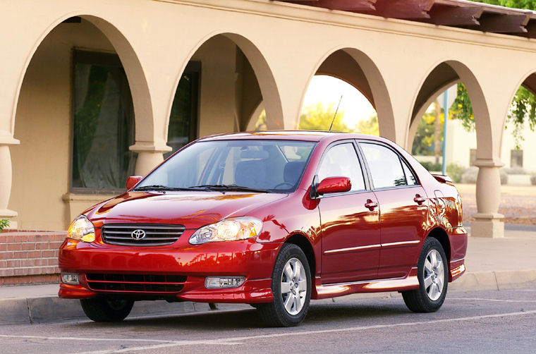 Awesome 2004 Toyota Corolla S Picture