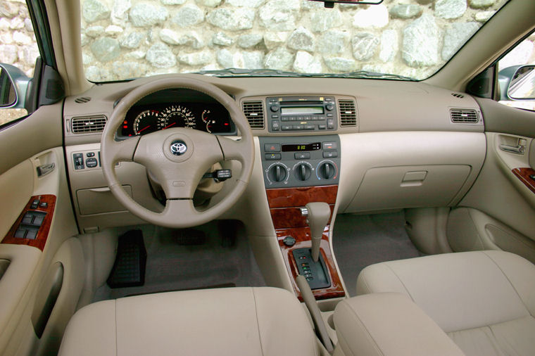 2006 toyota corolla le cockpit picture pic image. Black Bedroom Furniture Sets. Home Design Ideas