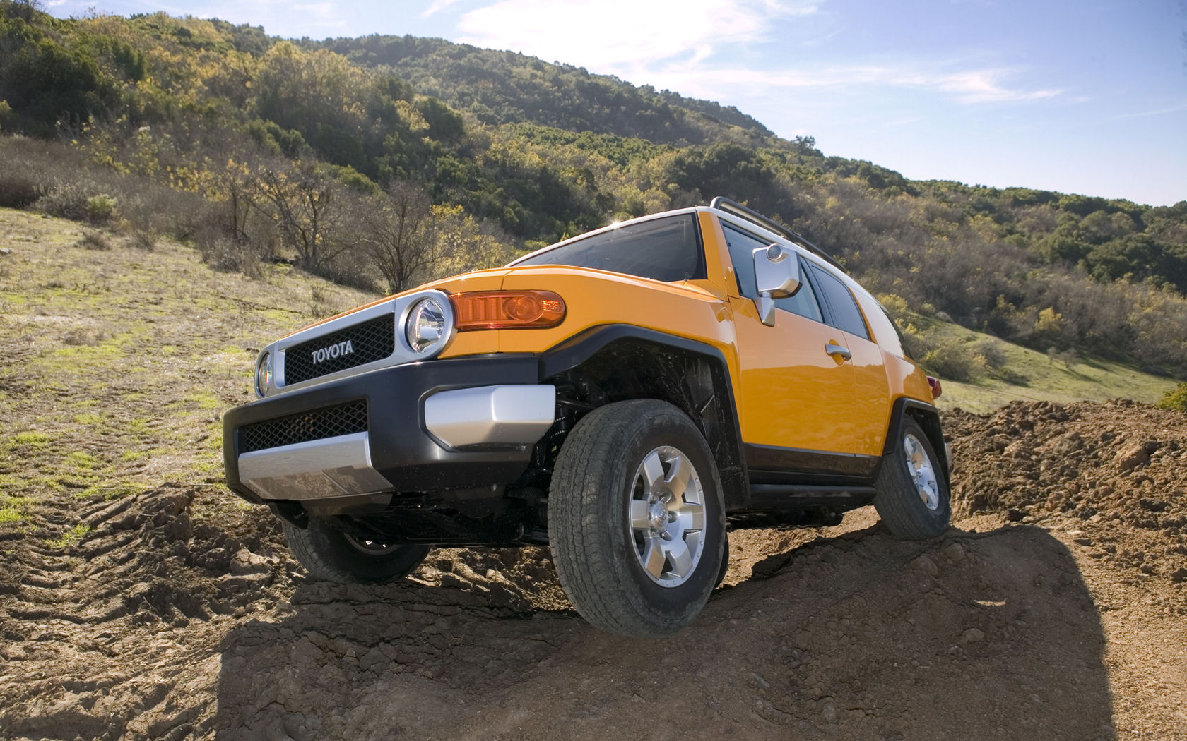 Toyota FJ Cruiser V6 AWD  Free Widescreen Wallpaper  Desktop