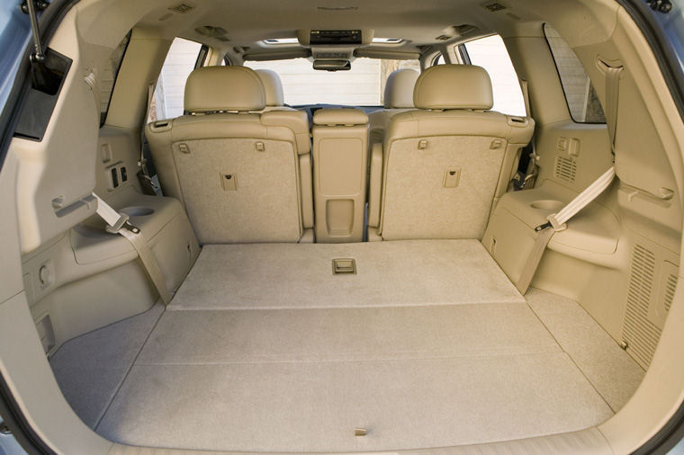 2008 Toyota Highlander Trunk Picture Pic Image
