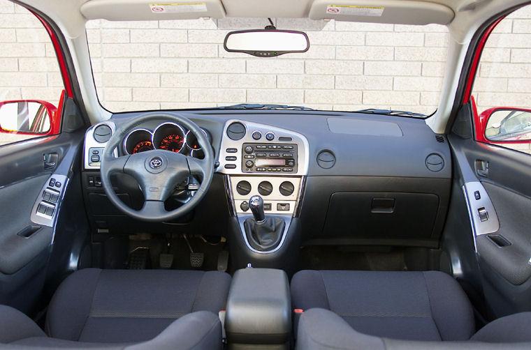 2003 Toyota Matrix Cockpit Picture Pic Image