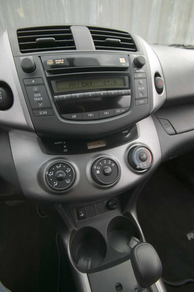 Kia Performance Center >> 2008 Toyota RAV4 Center Dash - Picture / Pic / Image