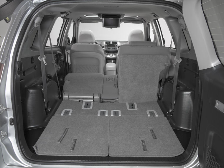 2008 Toyota Rav4 Trunk Picture Pic Image
