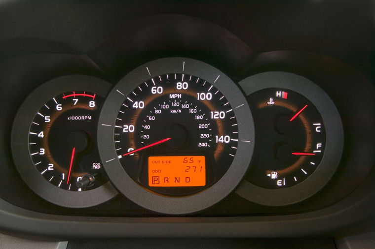 2008 Toyota Rav4 Limited Gauges Picture Pic Image