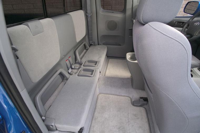 2005 Toyota Tacoma Prerunner Access Cab Rear Seats