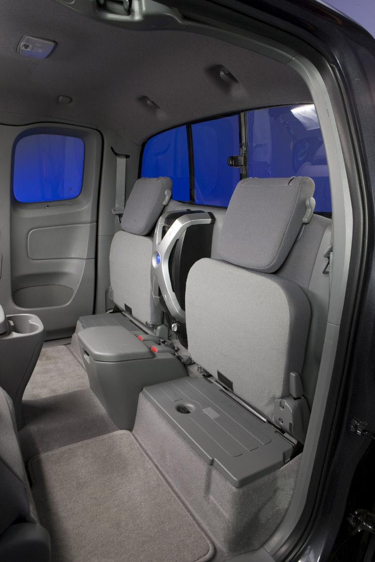 2009 Toyota Tacoma Access Cab Awd Rear Seats Picture