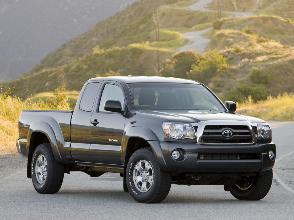 Tacoma Back Pages >> Toyota Tacoma, PreRunner, AWD, V6 - Free 1024x768 ...