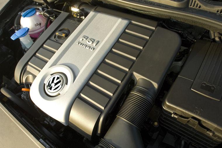 2008 Volkswagen Jetta 2 5l 5 Cylinder Engine Picture