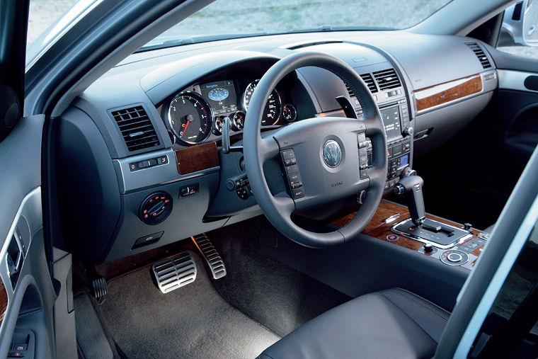 2008 Volkswagen Touareg V10 Tdi Interior Picture Pic