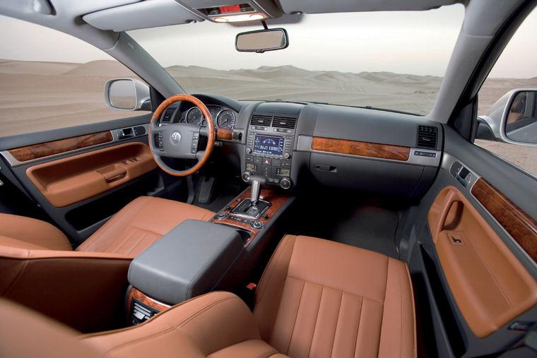 2009 Volkswagen Touareg V6 Tdi Interior Picture Pic Image