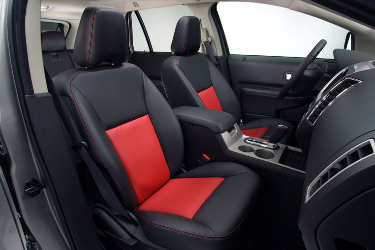 2008 Ford Edge Limited Interior Appearance Package Front Seats - Picture / Pic / Image