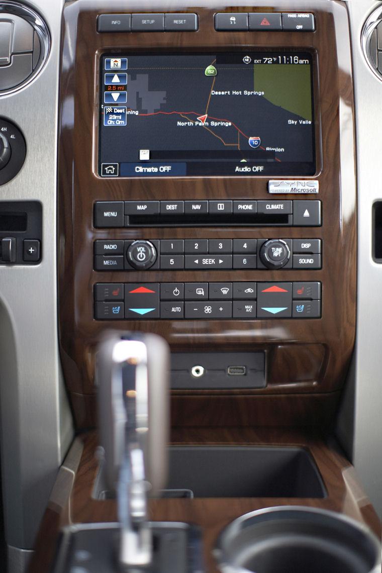 2010 Ford F150 Super Crew Platinum Center Stack - Picture ...