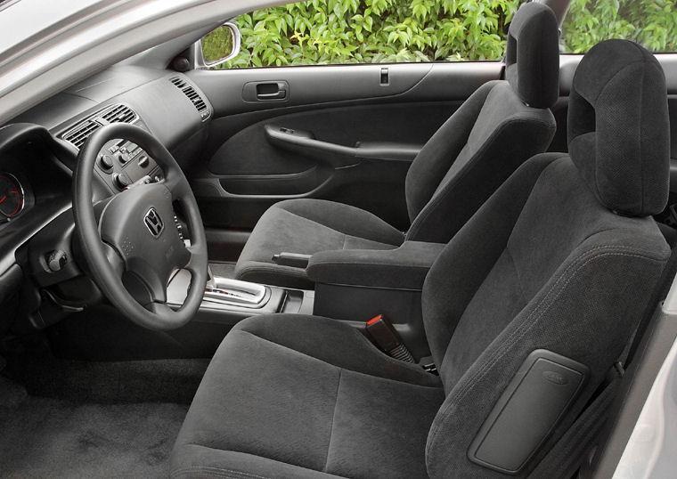 2003 Honda Civic Coupe Interior - Picture / Pic / Image