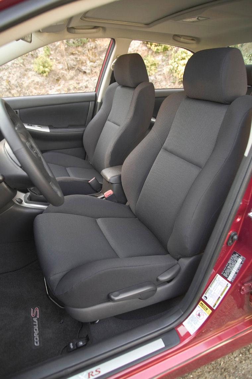2005 Toyota Corolla XRS Interior - Picture / Pic / Image